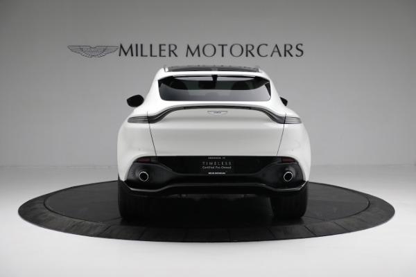New 2021 Aston Martin DBX for sale $211,636 at Bugatti of Greenwich in Greenwich CT 06830 5