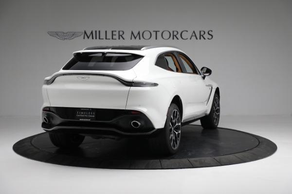 New 2021 Aston Martin DBX for sale $211,636 at Bugatti of Greenwich in Greenwich CT 06830 6