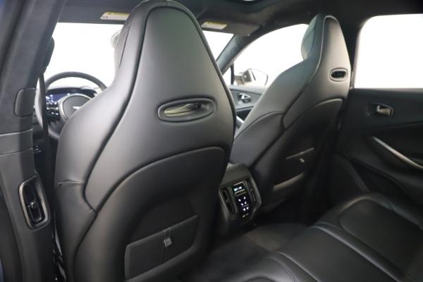 New 2021 Aston Martin DBX SUV for sale $194,486 at Bugatti of Greenwich in Greenwich CT 06830 17