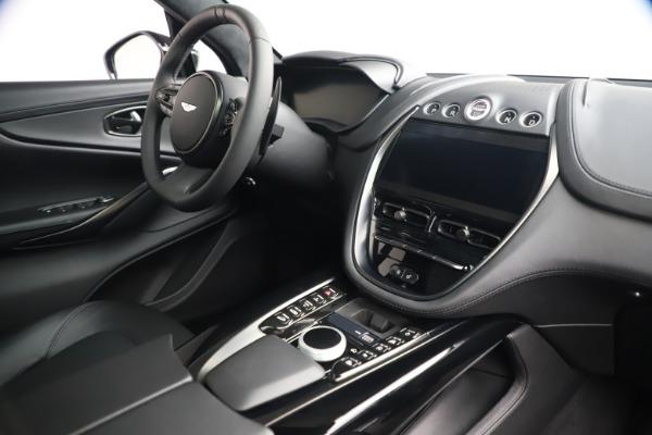 New 2021 Aston Martin DBX SUV for sale $194,486 at Bugatti of Greenwich in Greenwich CT 06830 18