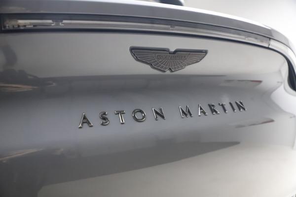New 2021 Aston Martin DBX SUV for sale $194,486 at Bugatti of Greenwich in Greenwich CT 06830 22