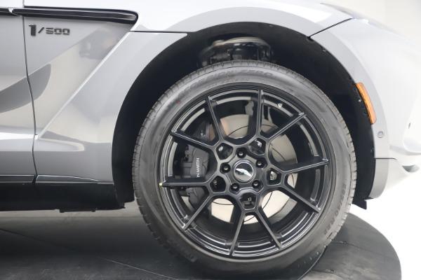 New 2021 Aston Martin DBX SUV for sale $194,486 at Bugatti of Greenwich in Greenwich CT 06830 23