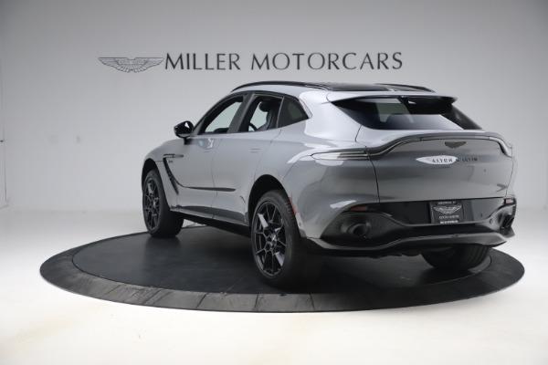 New 2021 Aston Martin DBX SUV for sale $194,486 at Bugatti of Greenwich in Greenwich CT 06830 4