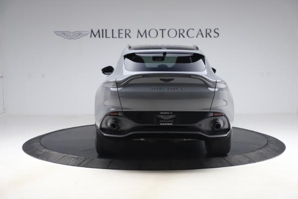New 2021 Aston Martin DBX SUV for sale $194,486 at Bugatti of Greenwich in Greenwich CT 06830 5