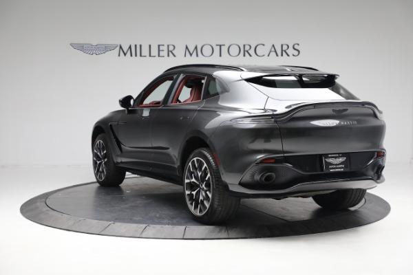 New 2021 Aston Martin DBX for sale $224,886 at Bugatti of Greenwich in Greenwich CT 06830 4