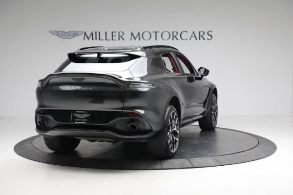 New 2021 Aston Martin DBX for sale $224,886 at Bugatti of Greenwich in Greenwich CT 06830 6