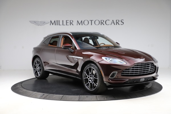 New 2021 Aston Martin DBX for sale $226,836 at Bugatti of Greenwich in Greenwich CT 06830 10
