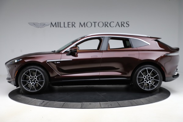 New 2021 Aston Martin DBX for sale $226,836 at Bugatti of Greenwich in Greenwich CT 06830 2