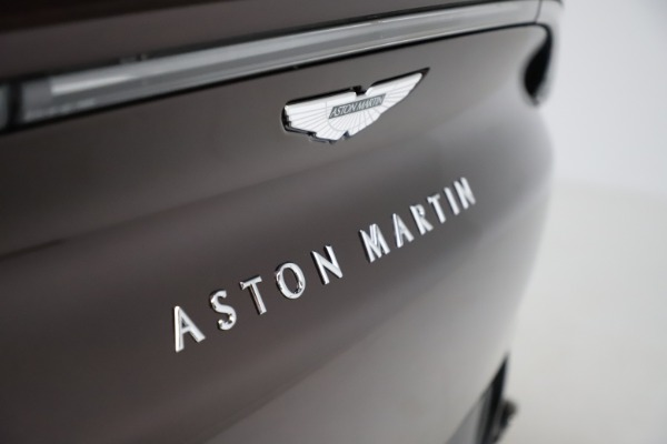 New 2021 Aston Martin DBX for sale $226,836 at Bugatti of Greenwich in Greenwich CT 06830 24