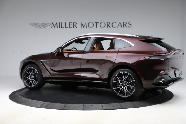 New 2021 Aston Martin DBX for sale $226,836 at Bugatti of Greenwich in Greenwich CT 06830 3