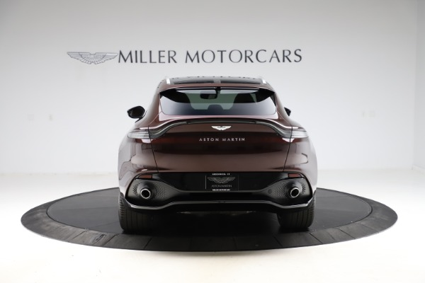 New 2021 Aston Martin DBX for sale $226,836 at Bugatti of Greenwich in Greenwich CT 06830 5
