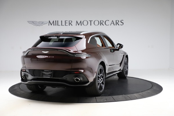 New 2021 Aston Martin DBX for sale $226,836 at Bugatti of Greenwich in Greenwich CT 06830 6