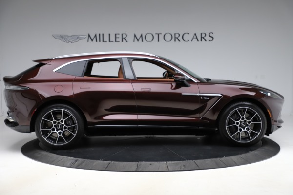 New 2021 Aston Martin DBX for sale $226,836 at Bugatti of Greenwich in Greenwich CT 06830 8