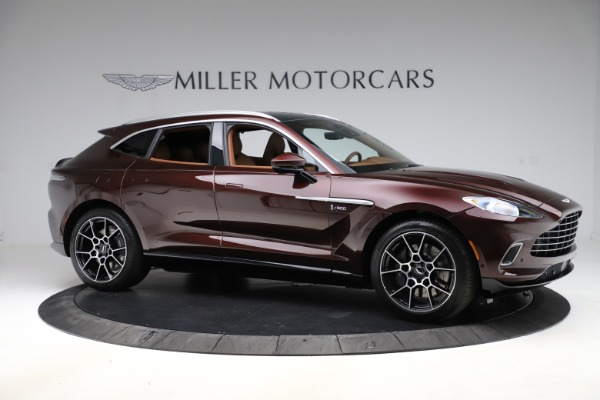 New 2021 Aston Martin DBX for sale $226,836 at Bugatti of Greenwich in Greenwich CT 06830 9