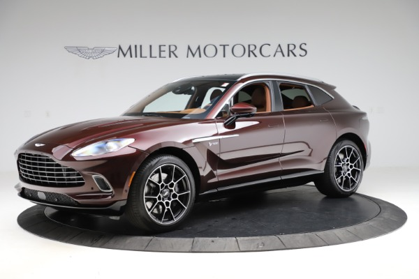 New 2021 Aston Martin DBX for sale $226,836 at Bugatti of Greenwich in Greenwich CT 06830 1