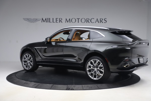 New 2021 Aston Martin DBX for sale $212,886 at Bugatti of Greenwich in Greenwich CT 06830 3