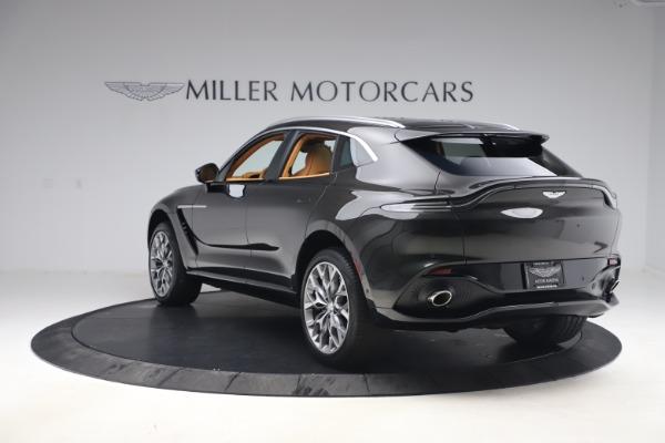 New 2021 Aston Martin DBX for sale $212,886 at Bugatti of Greenwich in Greenwich CT 06830 4