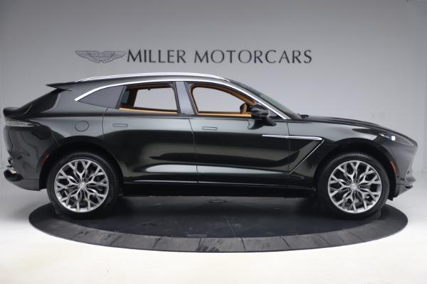 New 2021 Aston Martin DBX for sale $212,886 at Bugatti of Greenwich in Greenwich CT 06830 8