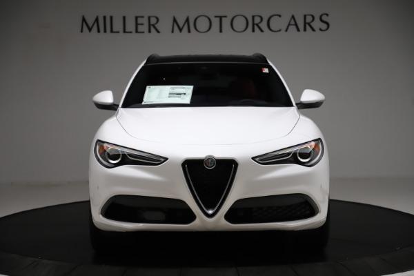 New 2020 Alfa Romeo Stelvio Ti Sport Q4 for sale $57,245 at Bugatti of Greenwich in Greenwich CT 06830 12