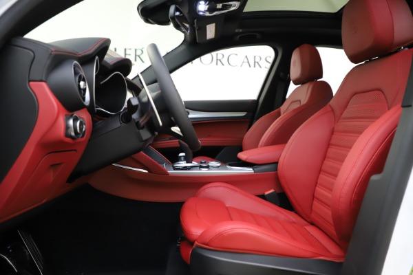 New 2020 Alfa Romeo Stelvio Ti Sport Q4 for sale $57,245 at Bugatti of Greenwich in Greenwich CT 06830 14