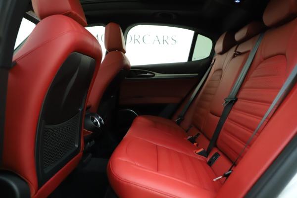 New 2020 Alfa Romeo Stelvio Ti Sport Q4 for sale $57,245 at Bugatti of Greenwich in Greenwich CT 06830 19