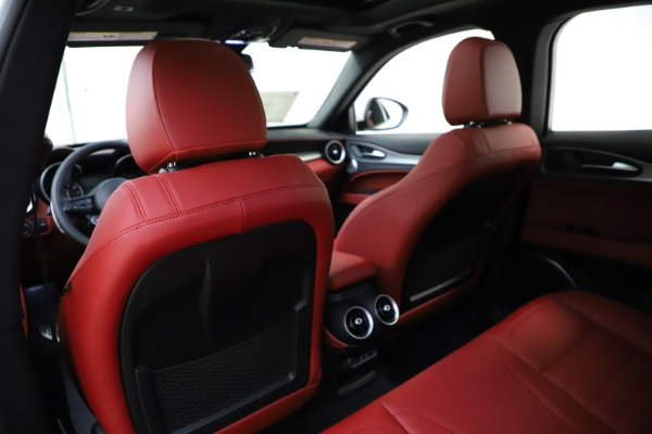 New 2020 Alfa Romeo Stelvio Ti Sport Q4 for sale $57,245 at Bugatti of Greenwich in Greenwich CT 06830 20