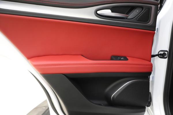 New 2020 Alfa Romeo Stelvio Ti Sport Q4 for sale $57,245 at Bugatti of Greenwich in Greenwich CT 06830 21