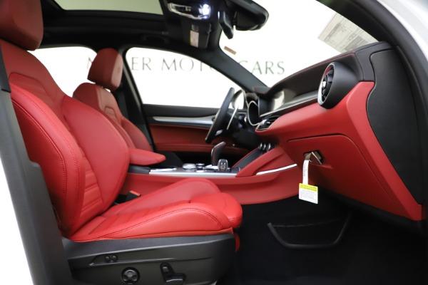 New 2020 Alfa Romeo Stelvio Ti Sport Q4 for sale $57,245 at Bugatti of Greenwich in Greenwich CT 06830 23