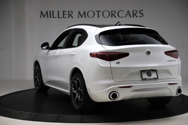 New 2020 Alfa Romeo Stelvio Ti Sport Q4 for sale $57,245 at Bugatti of Greenwich in Greenwich CT 06830 5