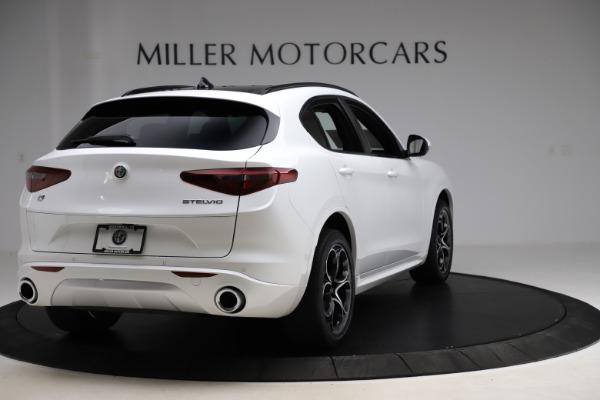 New 2020 Alfa Romeo Stelvio Ti Sport Q4 for sale $57,245 at Bugatti of Greenwich in Greenwich CT 06830 7