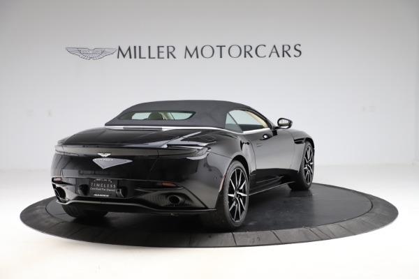 Used 2020 Aston Martin DB11 Volante for sale $209,900 at Bugatti of Greenwich in Greenwich CT 06830 27