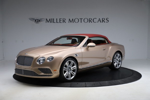 Used 2017 Bentley Continental GTC W12 for sale $165,900 at Bugatti of Greenwich in Greenwich CT 06830 11