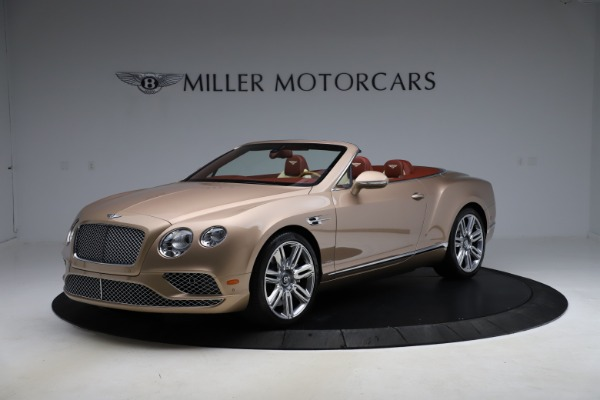 Used 2017 Bentley Continental GTC W12 for sale $165,900 at Bugatti of Greenwich in Greenwich CT 06830 2