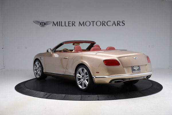 Used 2017 Bentley Continental GTC W12 for sale $165,900 at Bugatti of Greenwich in Greenwich CT 06830 5