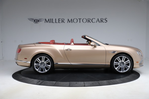 Used 2017 Bentley Continental GTC W12 for sale $165,900 at Bugatti of Greenwich in Greenwich CT 06830 9