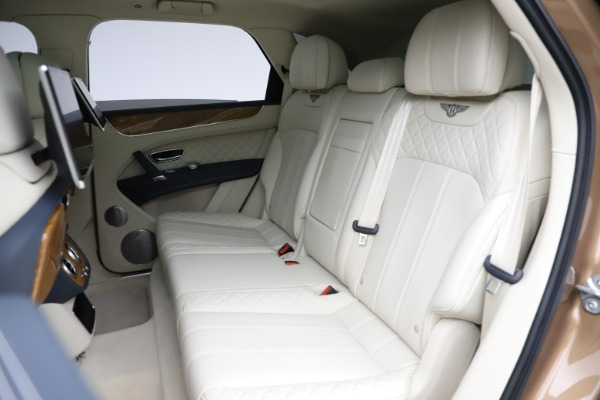 Used 2017 Bentley Bentayga W12 for sale Sold at Bugatti of Greenwich in Greenwich CT 06830 22