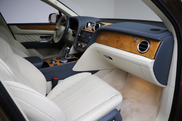 Used 2017 Bentley Bentayga W12 for sale Sold at Bugatti of Greenwich in Greenwich CT 06830 24