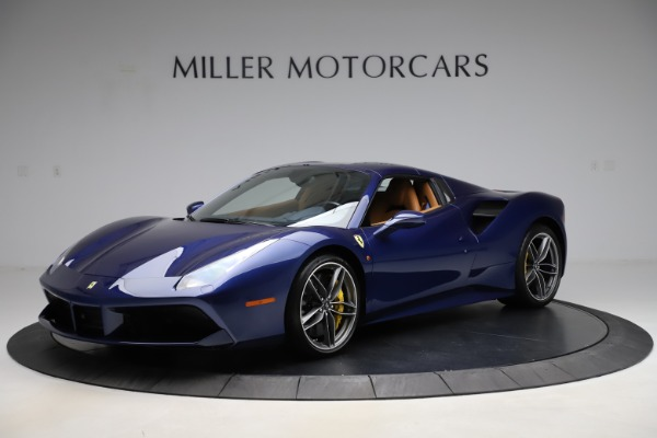 Used 2018 Ferrari 488 Spider for sale Sold at Bugatti of Greenwich in Greenwich CT 06830 13