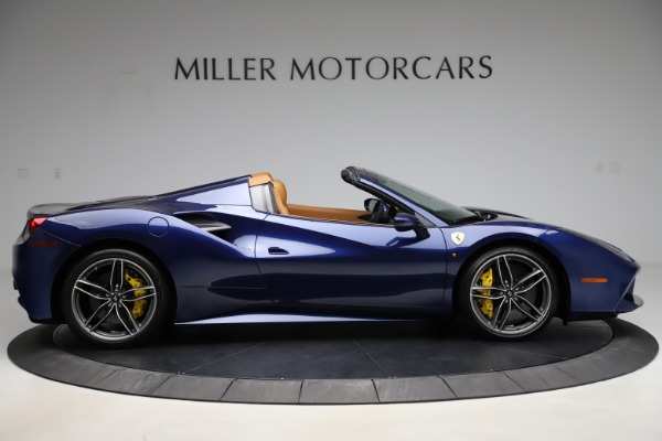 Used 2018 Ferrari 488 Spider for sale Sold at Bugatti of Greenwich in Greenwich CT 06830 9