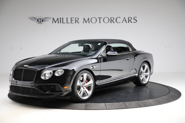 Used 2017 Bentley Continental GTC V8 S for sale $159,900 at Bugatti of Greenwich in Greenwich CT 06830 12