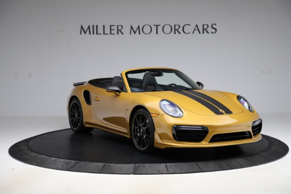 Used 2019 Porsche 911 Turbo S Exclusive for sale $249,900 at Bugatti of Greenwich in Greenwich CT 06830 11