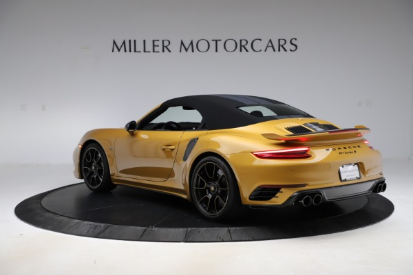 Used 2019 Porsche 911 Turbo S Exclusive for sale Sold at Bugatti of Greenwich in Greenwich CT 06830 14