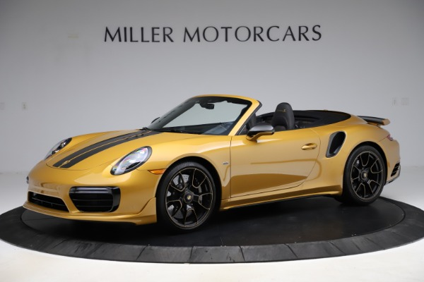Used 2019 Porsche 911 Turbo S Exclusive for sale $249,900 at Bugatti of Greenwich in Greenwich CT 06830 2