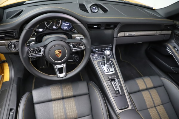 Used 2019 Porsche 911 Turbo S Exclusive for sale $249,900 at Bugatti of Greenwich in Greenwich CT 06830 22