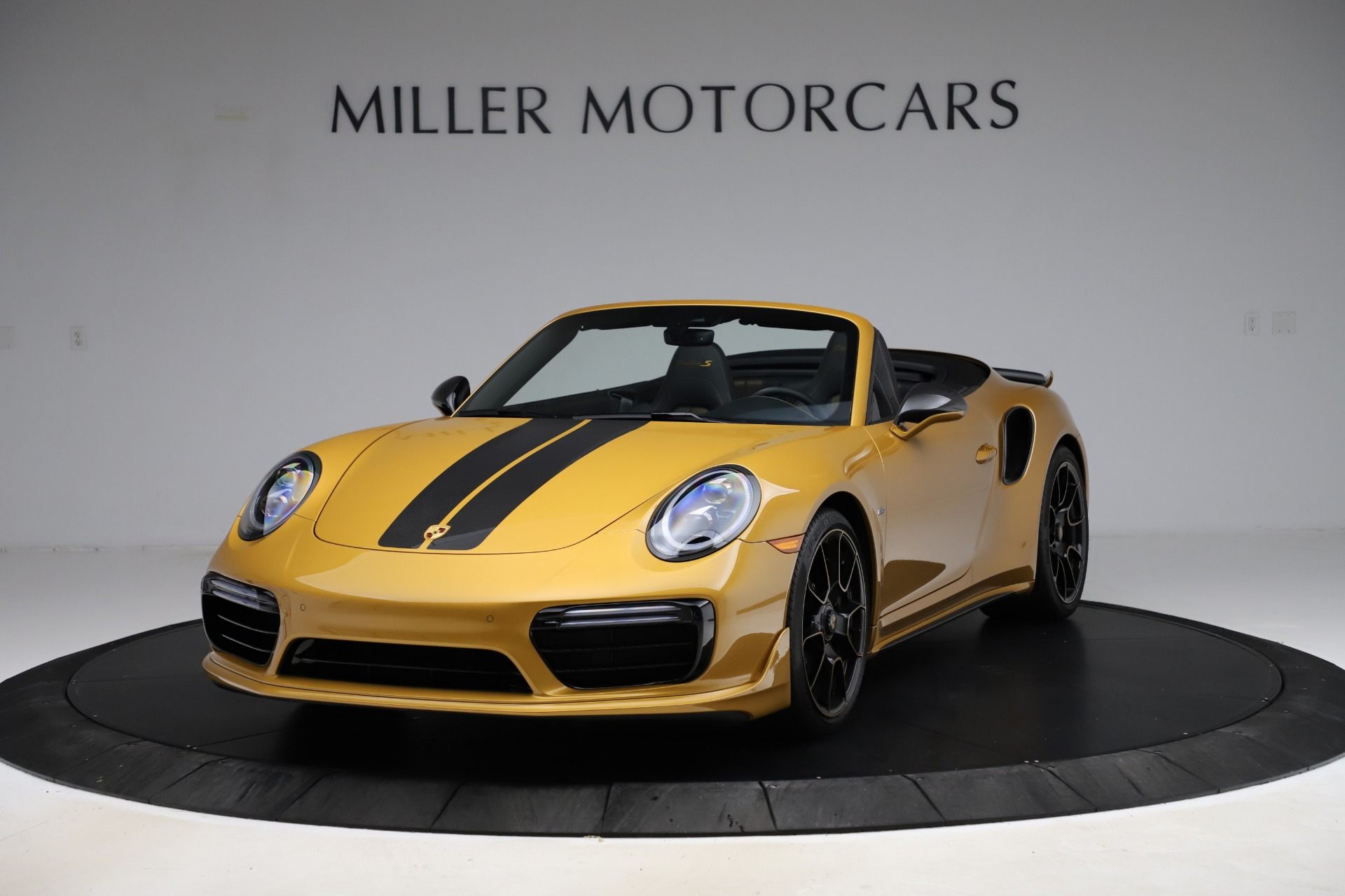 Used 2019 Porsche 911 Turbo S Exclusive for sale Sold at Bugatti of Greenwich in Greenwich CT 06830 1