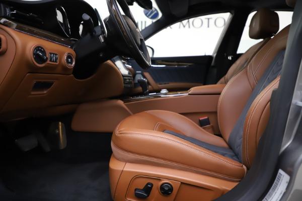 Used 2017 Maserati Quattroporte S Q4 GranLusso for sale $59,900 at Bugatti of Greenwich in Greenwich CT 06830 14