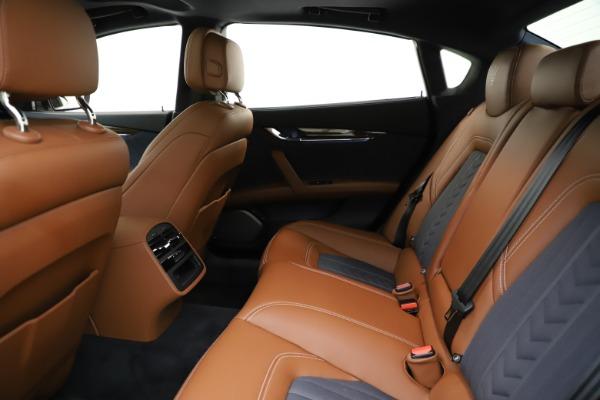 Used 2017 Maserati Quattroporte S Q4 GranLusso for sale $59,900 at Bugatti of Greenwich in Greenwich CT 06830 19
