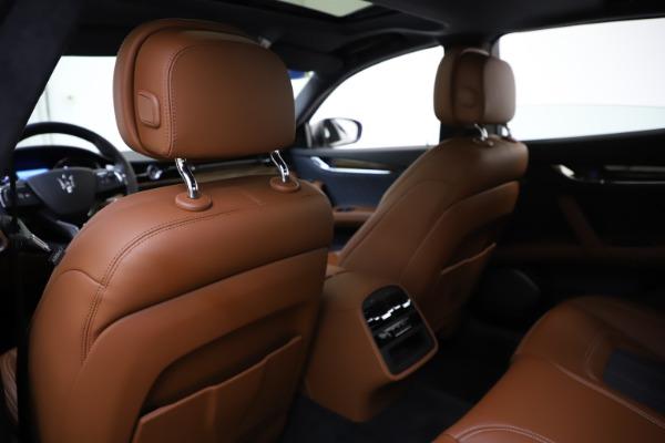 Used 2017 Maserati Quattroporte S Q4 GranLusso for sale $59,900 at Bugatti of Greenwich in Greenwich CT 06830 20