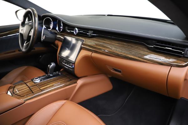Used 2017 Maserati Quattroporte S Q4 GranLusso for sale $59,900 at Bugatti of Greenwich in Greenwich CT 06830 22