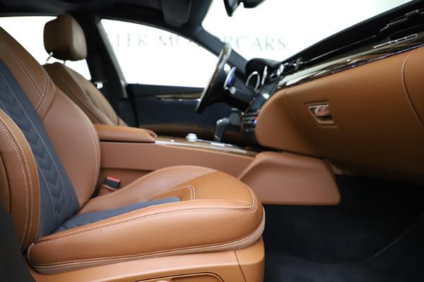 Used 2017 Maserati Quattroporte S Q4 GranLusso for sale $59,900 at Bugatti of Greenwich in Greenwich CT 06830 23